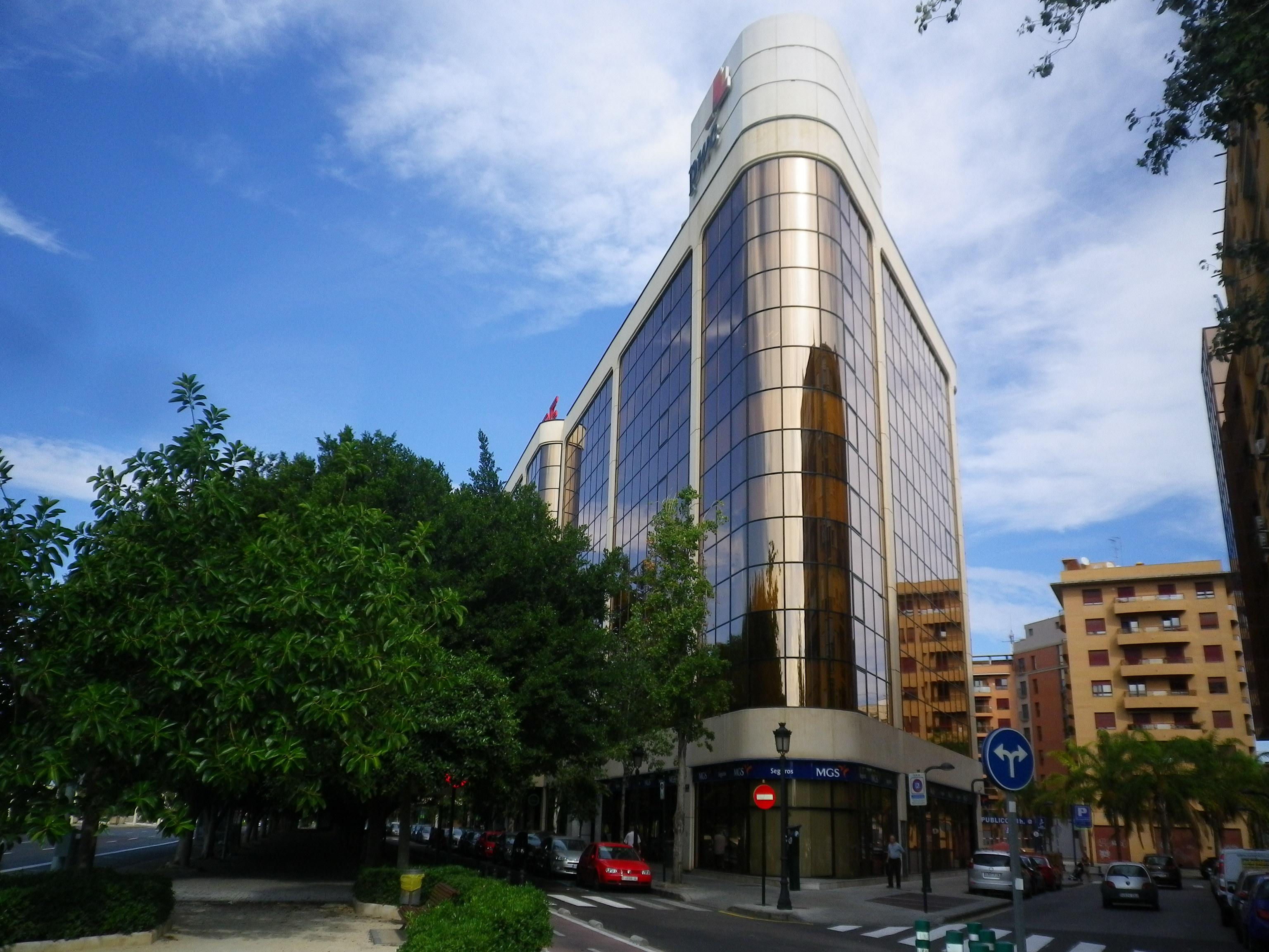 Oficinas en alquiler valencia for Edificio oficinas valencia