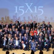 Alberta Norweg presente en los discursos de clausura del 15X15 Edem